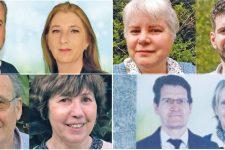 La droite, l'extrême droite, l'extrême gauche et les écologistes s'affrontent lors des départementales